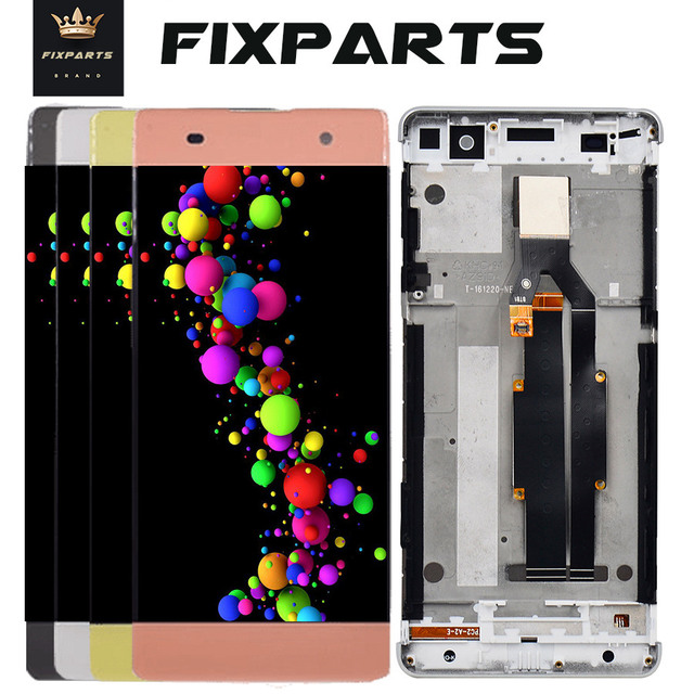 """100% Tested For Sony Xperia XA LCD Display Touch Screen Digitizer Assembly F3111 F3113 F3115 Replacement For 5.0"""" SONY XA LCD"""