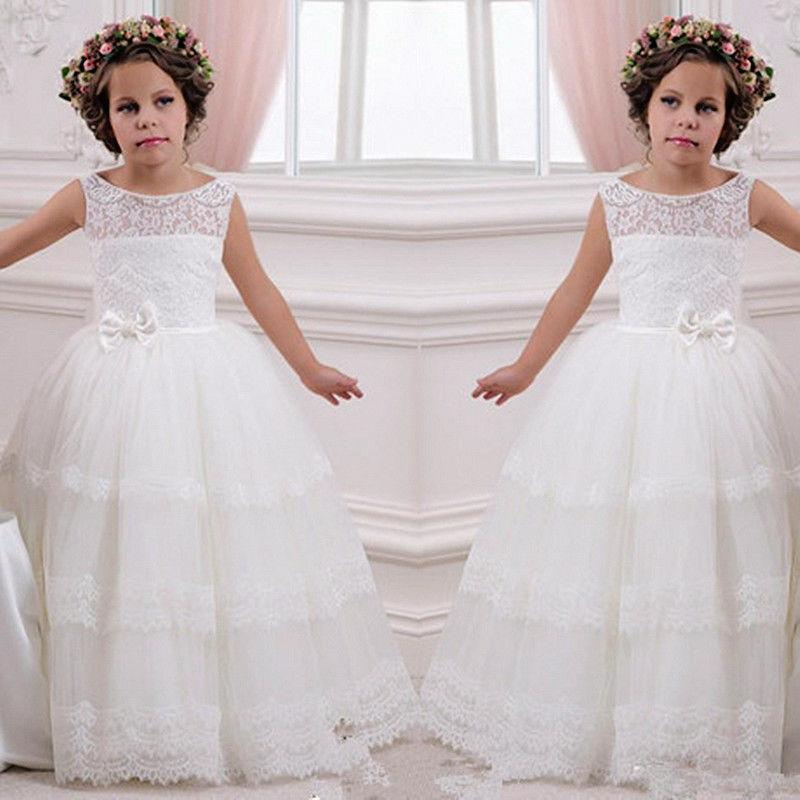 Детское нарядное платье длина