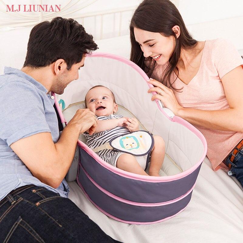 Bébé musique soin chaise multifonction nouveau-nés lit pliant bébé chaise berçante bébé berceaux lit Portable bébé chaise infantile Rocker
