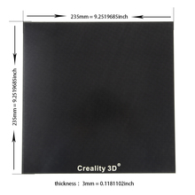 Ender-3/ender-3pro/CR-10/Cr-10s стеклянная панель для нагрева кровати 3D платформа для печати с подогревом построить поверхность 235×235/310x310x3 мм