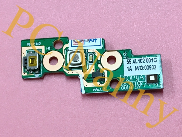 ФОТО For Lenovo S510p Touch Power Button Switch Board with Cable 48.4L107.011