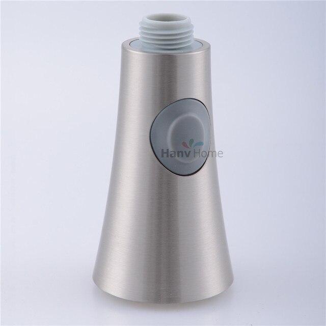 2 Funktionen Gebürstetem Nickel Herausziehen Spray Küchenarmatur ...