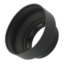Резиновый кожух линзы бленда стандартный 49 мм 52 мм 58 мм 55 мм 62 мм 67 мм 72 мм 77 мм телеобъектив Крышка для Canon Nikon sony