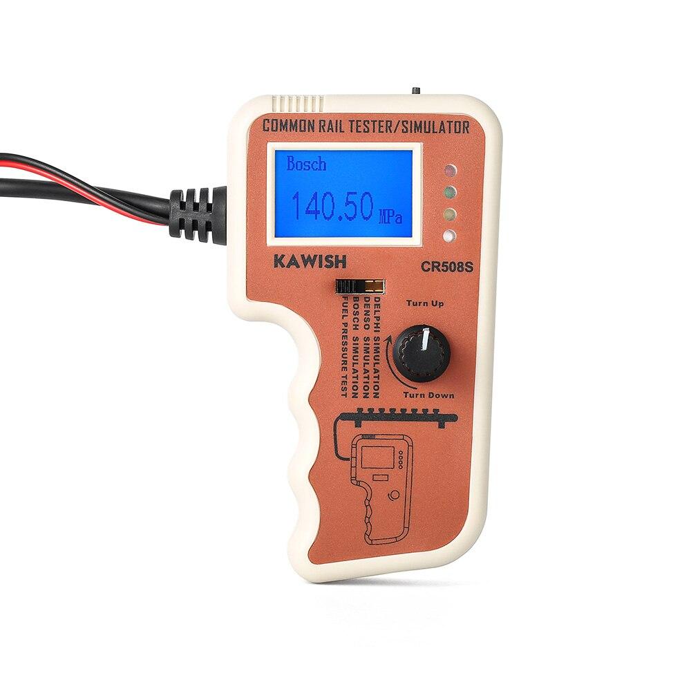CR508 Diesel Common Rail Druck Tester und Simulator für Bosch/Delphi/Denso Sensor Test Werkzeug CR508 Diesel Motor