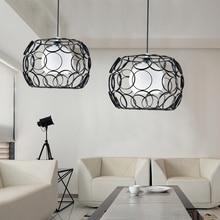Modern pendant lights, stylist lamp shades metal Hanging Lamps E27