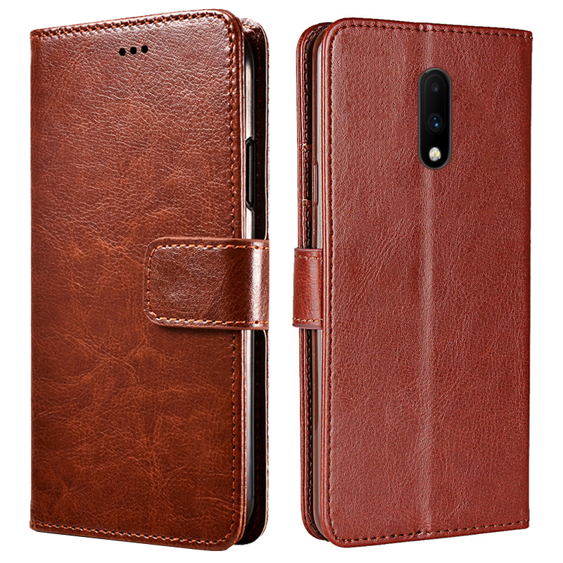 <font><b>OnePlus</b></font> 7 7 Pro Case Luxury Leather <font><b>Flip</b></font> Stand Magnetic <font><b>original</b></font> Wallet <font><b>Cover</b></font> For One Plus 7 Pro 1+ 7 Pro Case Card Slot Holder image