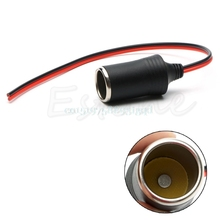 Female 12V 24V Car Cigar Cigarette Lighter Socket Plug Connector High Quality 2A T518