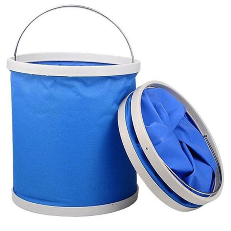 Bucket Car-Wash Auto Detailing Styling Camping Cloth Fishing Pail Oxford Foldable