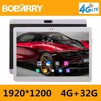 BOBARRY 10 Inch Tablet PC 3G 4G Lte Octa Core 4GB RAM 32GB ROM Dual SIM