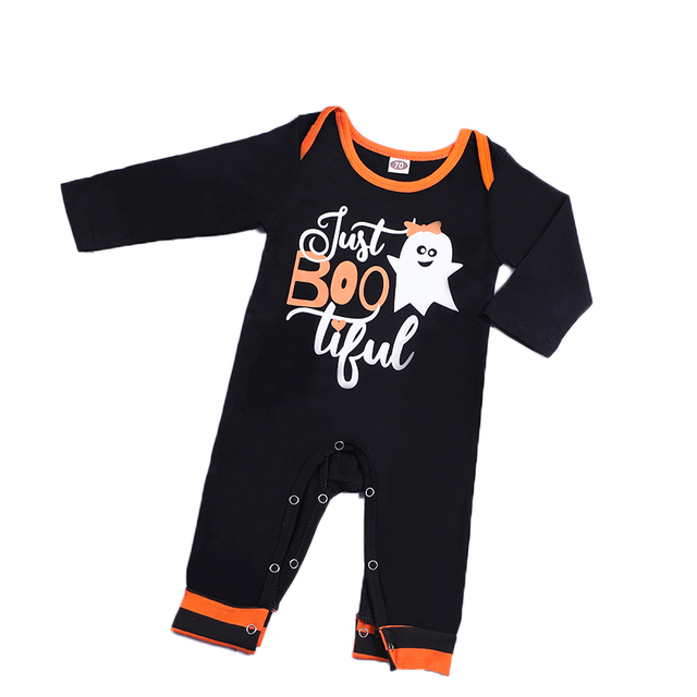 4bdd03aaa2b7 Pudcoco Brand Halloween Costume Newborn Baby Girls Boys Romper Onesie Long  Sleeve Pumpkin Jumpsuits Clothes Festival Outfits 2Y