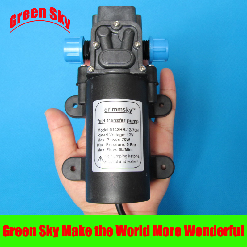 6L/Min DC 70W oil pump 12v electric manka care 110v 220v ac 50l min 165w small electric piston vacuum pump silent pumps oil less oil free compressing pump