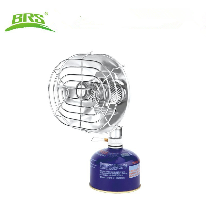 BRS Portable Double Head Heater Gas Stove Heating Infrared Ray Warmer Outdoor Drying Clothes Winter Fishing