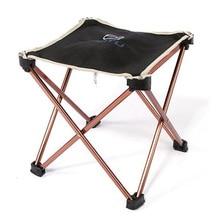 Outdoor Folding Fold Aluminum Chair Stool Seat Fishing Camping