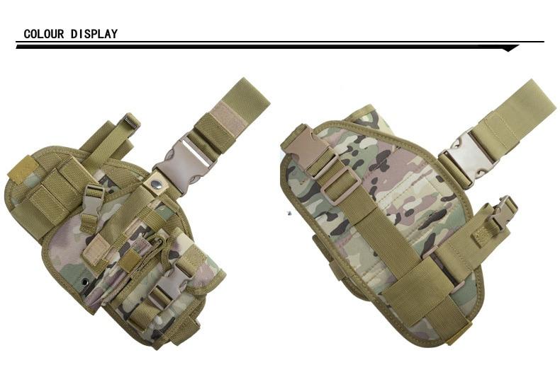 Militar tático gota perna saco multifuncional combinação