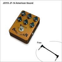 Effect Pedal JF 14 American sound (Amplifier Simulator), Reproduces The Sound&Mooer Performs Great From Clean Driven/free cable