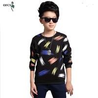 2016 Best Selling New Design Patterns Boys T Shirt Long Sleeve Brand Children S Tops Cotton