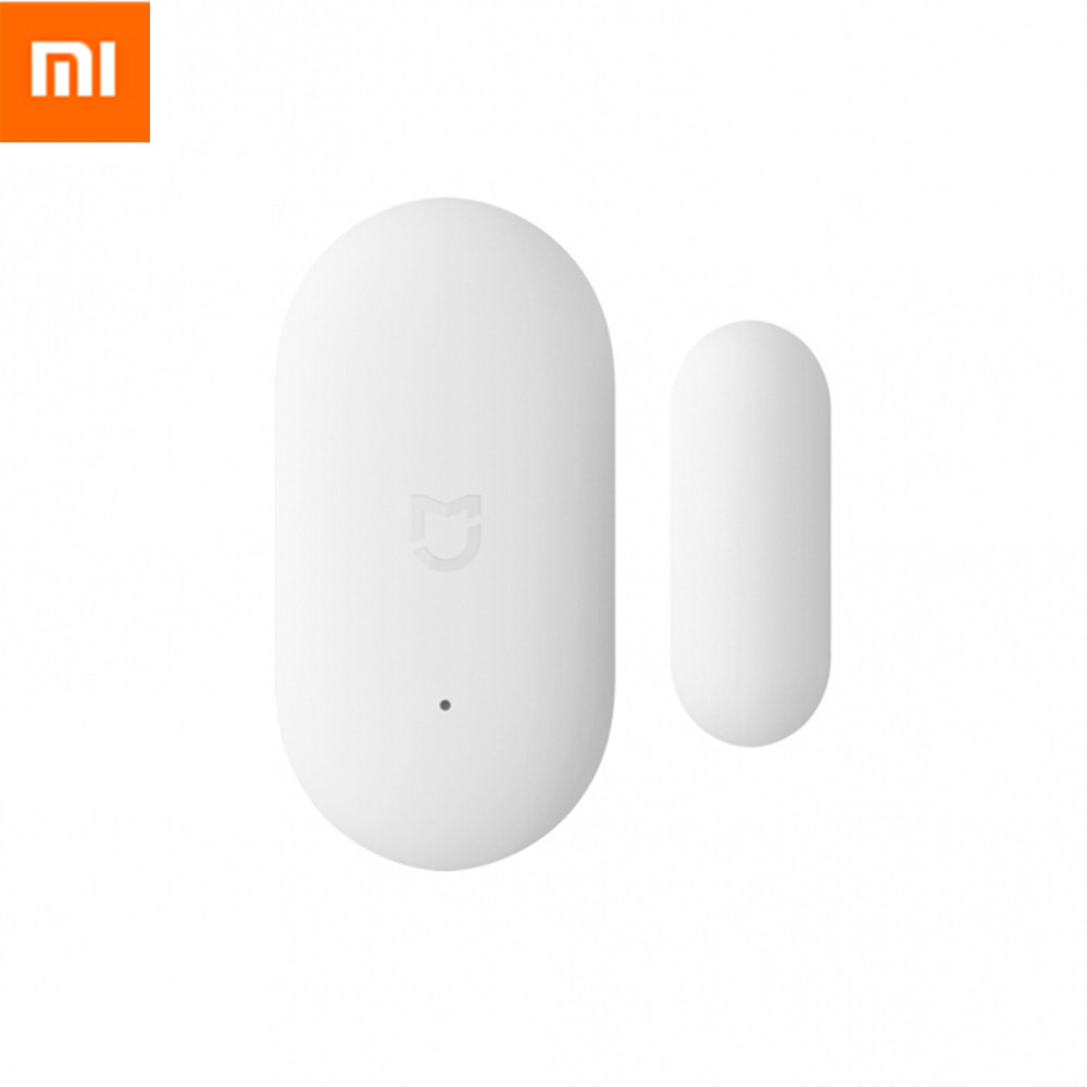 Galleria fotografica Original <font><b>Xiaomi</b></font> <font><b>Mi</b></font> Intelligent Mini Door Window Sensor Automatic Lights Human Body Sensor For Smart Home Kits Alarm System