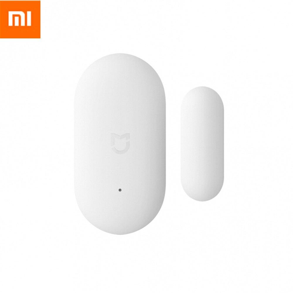 imágenes para Original xiaomi mi inteligente mini luces de la puerta ventana del sensor automático del sensor del cuerpo humano para kits de casa inteligente sistema de alarma