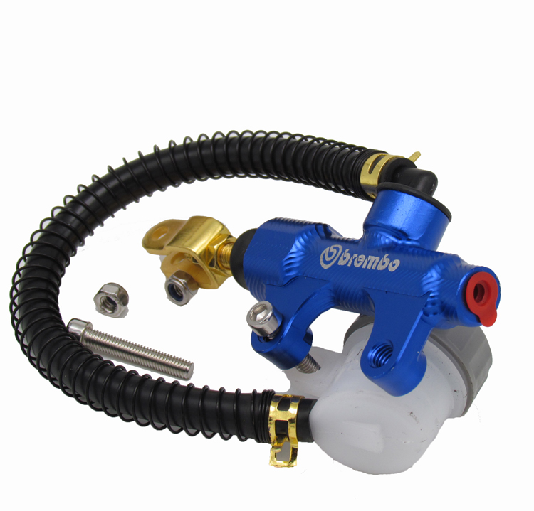 Motorcycle CNC modified accessories/motorcycle rear brake on the pump/Hydraulic clutch pump modified motorcycle accessories 250 clutch handle brake pump assembly high quality motorcycle modified brake pump