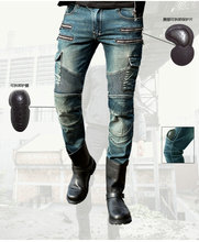 Motorcycle motocross PANTS MAN jeans Pantaloni uglybros motorpool ubs11 / Bike per il Tempo Libero degli uomini pantaloni gives
