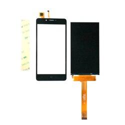 Testowane ok dla Leagoo Kiicaa mocy wyświetlacz LCD + ekran dotykowy dla Kiicaa Power lcd Digitizer free 3 m naklejki czarny/złoty kolor