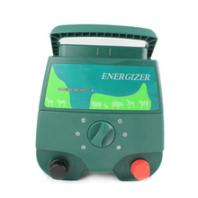 ZORASUN Portable Electric Fence Charger Energiser Energizer for Livestock Farm and Agricultural Farm Range 20KM