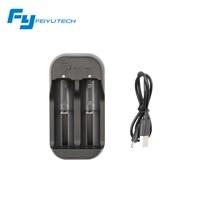 D'origine Feiyutech Cardan Chargeur pour 16340/18350/18650 et 22650 Batteries Rechargeables 900 mah 3.7 V pour FY G4 De Poche Cardan