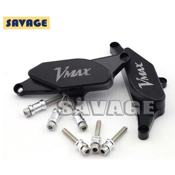 Pour YAMAHA V-MAX 1700 2009-2014 moto cadre curseur moteur Stator étui protecteur curseur avec logo VMAX
