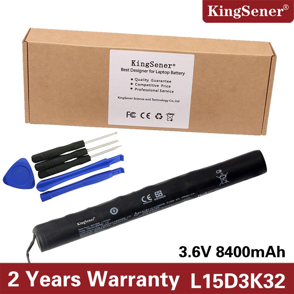 KingSener New L15D3K32 Battery For Lenovo Yoga 3 Tablet YT3-X50F YT3-X50M YT3-X50F YT3-X50M YT3-X50L YT3-X50 L15C3K32 8400mAh кабель антенный hama h 83190 coax m coax f 1 5м gold ф фильтр белый [00083190]