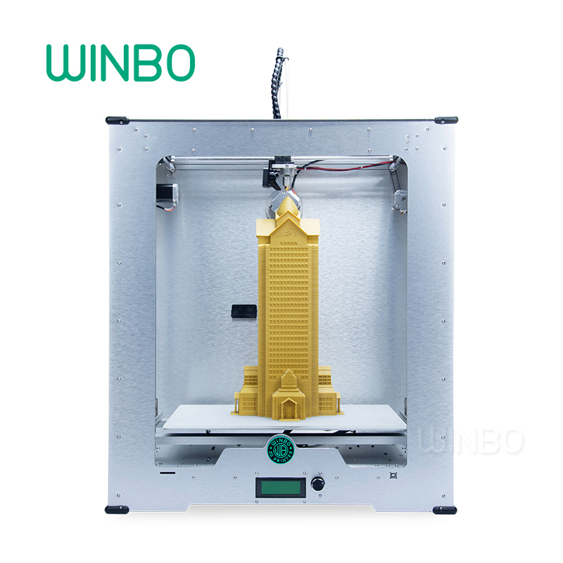 3D Printer Fast Speed Big Print 458*305*508 mm with 3 KG PLA filament ,Tool set and SD card As Gift Winbo Dragon(S)