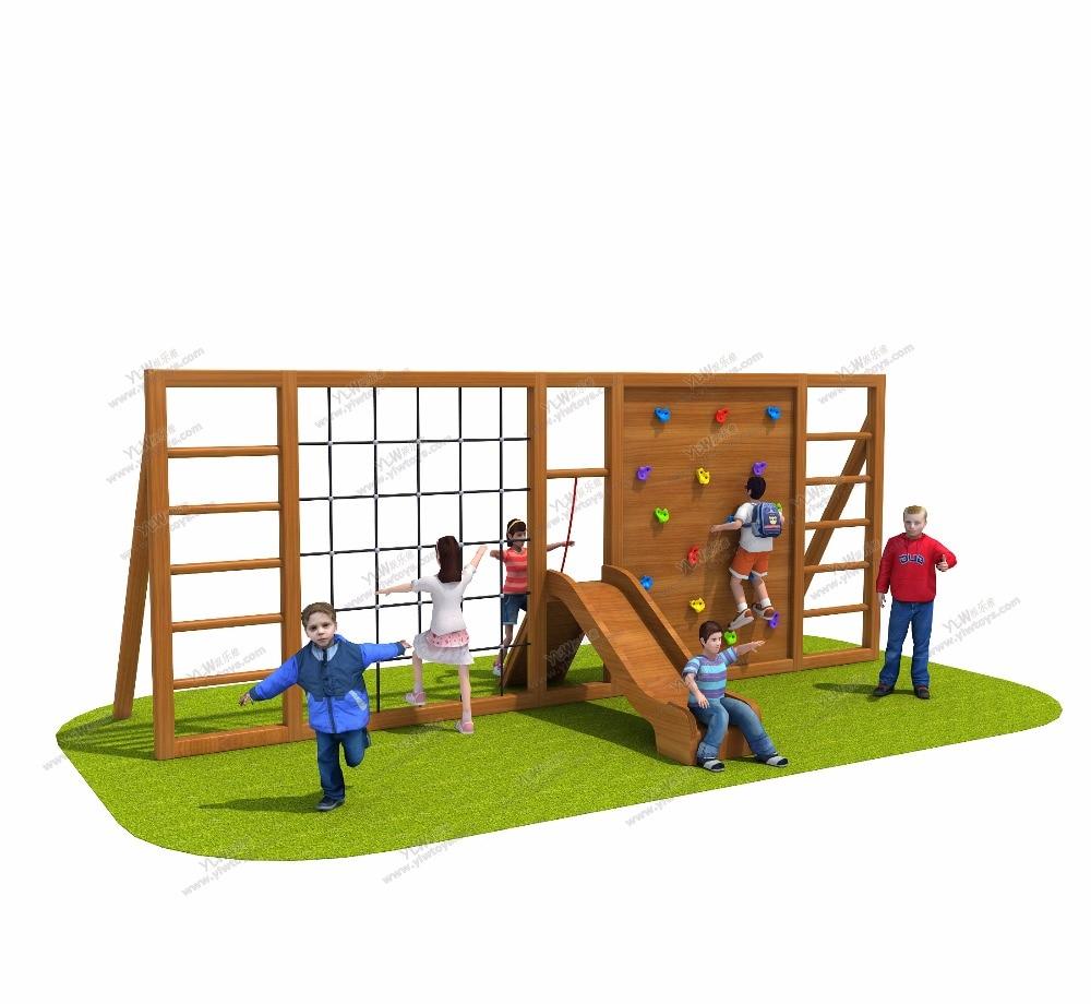 Exported To Romania Antirot Kindergarten/school Wooden Playground Equipment CE/TUV/ISO Certified Kids Outdoor Play Facilities