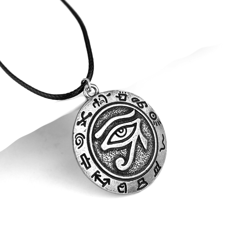 Unique mens necklaces egyptian eye of horus necklace pendant jewelry unique mens necklaces egyptian eye of horus necklace pendant jewelry amulet vintage jewelry accessories collares men gift in pendant necklaces from jewelry aloadofball Gallery