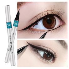 QIC 1pc Black Waterproof Liquid Eyeliner Make Up Beauty Comestics Long-lasting  Makeup