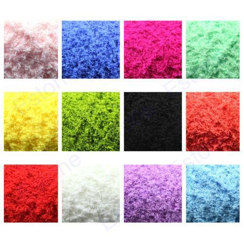 50g 1 Skein High Quality Ultra Soft Coral Fleece Baby Warm Yarn Knitting Hot Sale