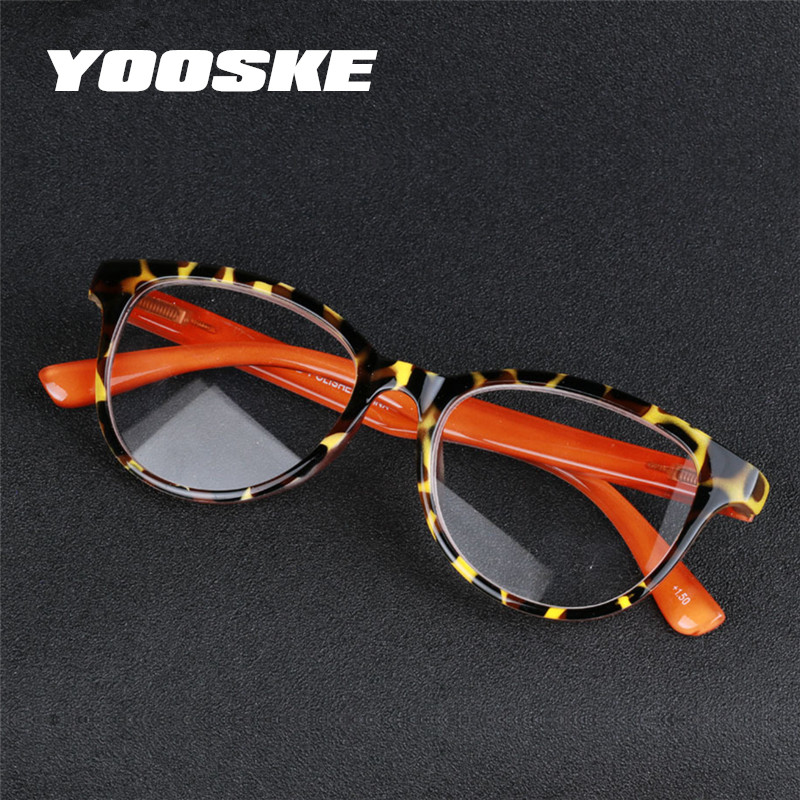 YOOSKE модные пластиковые очки для чтения для мужчин и женщин пресбиопические небьющиеся очки для чтения 1,5 2,0 2,5 3,0 3,5