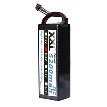 XXL 5200mah 11.1V 3S 35C Lipo Battery  with Hard case  For RC Car  truck boat Helicopter