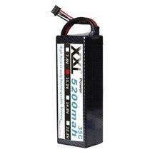 XXL 5200 mah 11.1 V 3 S 35C Lipo Batterie avec Dur cas Pour RC Voiture camion bateau Hélicoptère