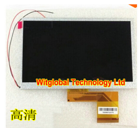 Witblue New LCD Display For 7 Tablet Dragon Touch Y88X Plus 1024x600 LCD Screen Matrix Module Replacement Viewing Panel Parts genuine replacement 2 7 lcd backlight touch screen module for sony dsc t2