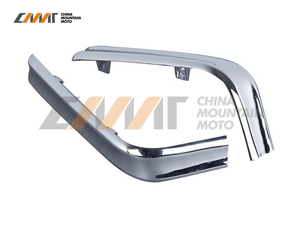 Chrome Trunk Trims Strips Moulding case for Honda GL1800 GOLDWING 2001-2011 05 06 07 lsrtw2017 car styling car trunk trims for honda crv 2017 2018 5th generation