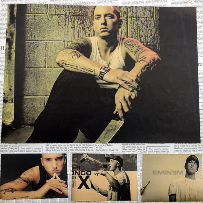 Vintage Poster Eminem The Slim Shady LP 8 Mile A rap ...