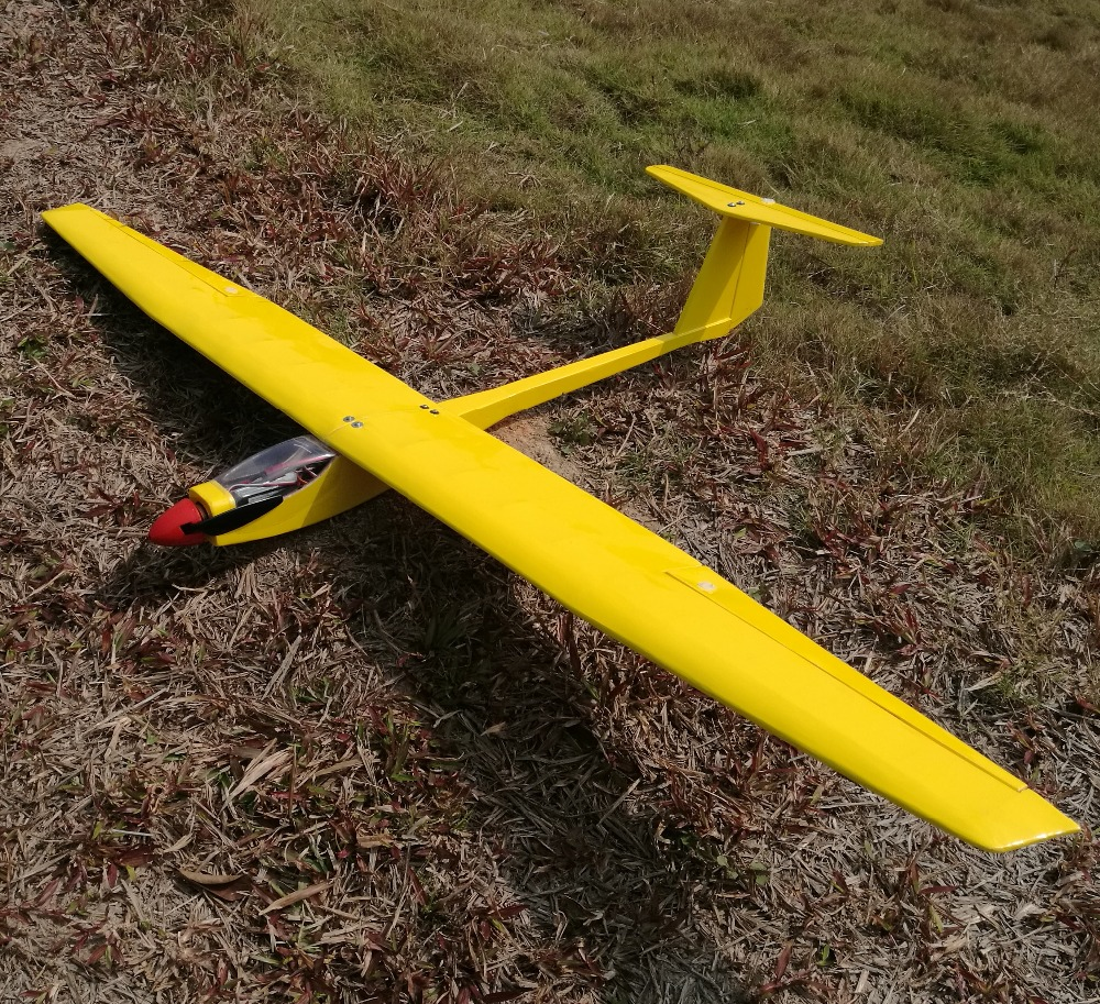 DIY balsa wood rc glider plane Free Shipping