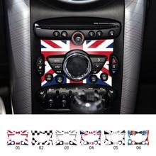 Внутреннее украшение автомобиля в панели управления наклейки для Mini Cooper R50 R52 R53 R55 R56 R57 R58 R59 R60 R61 R62