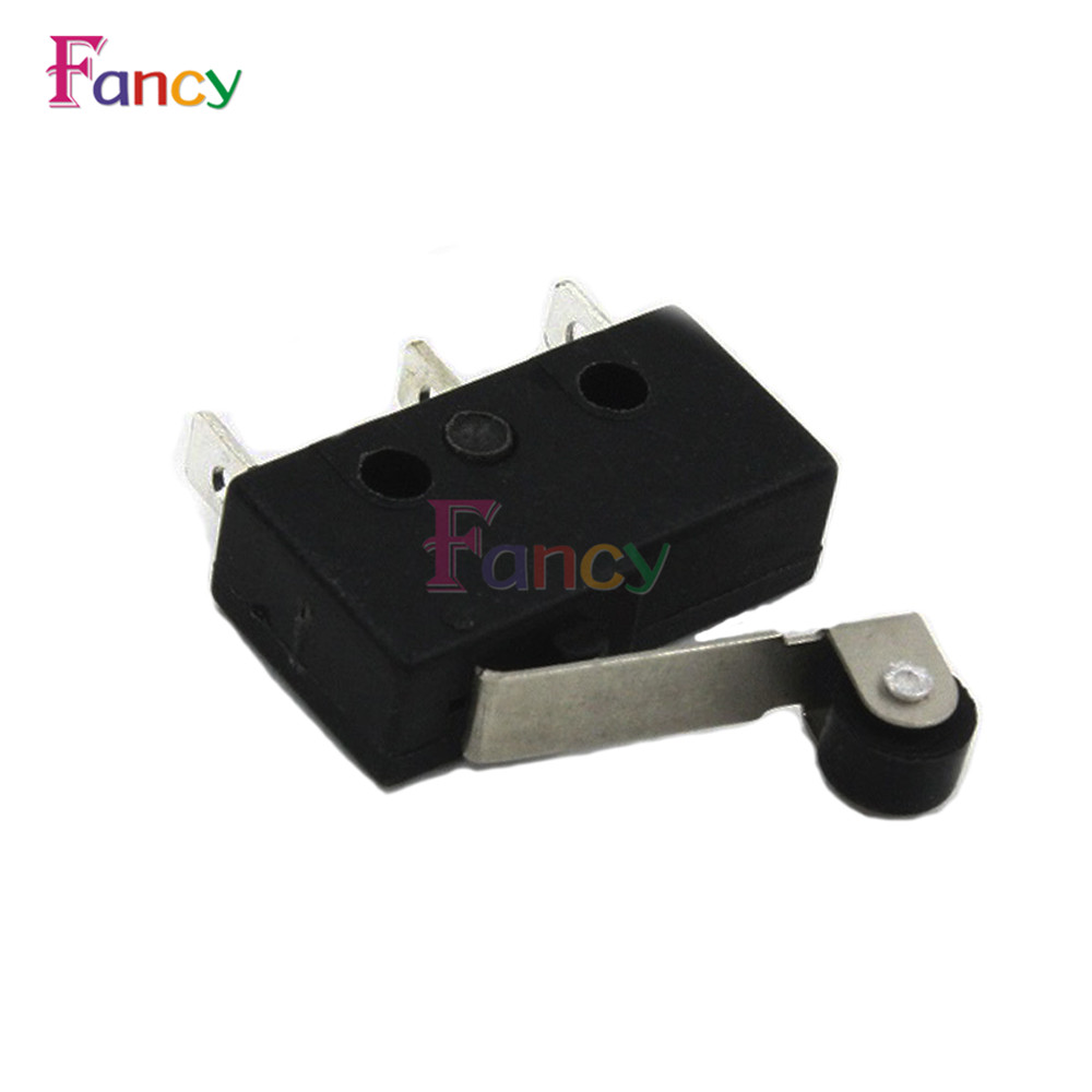 10PCS/lot 3pin Limit Switch N/O N/C 5A250VAC KW11-3Z Mini Micro Switch With Pulley New High quality