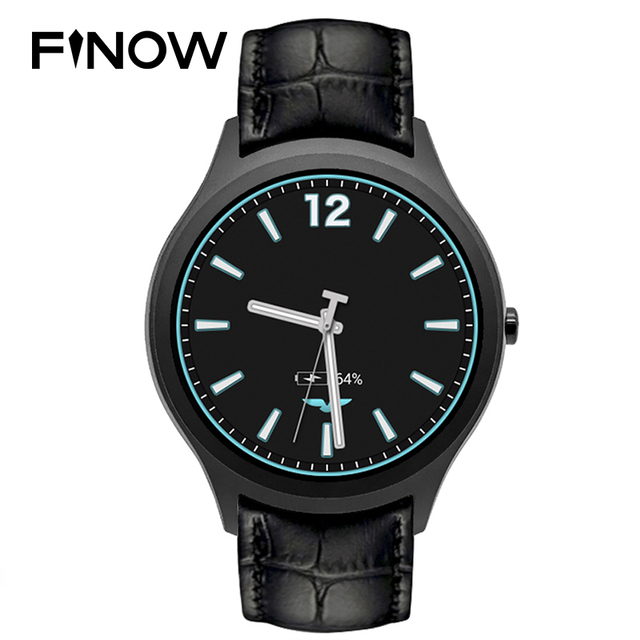 """Finow X1 K8 Mini Smart Watch Android 4.4 Dual Core 1.3""""IPS Heart Rate Monitor Pedometer 3G WIFI Smartwatch For iOS Android VS D5"""