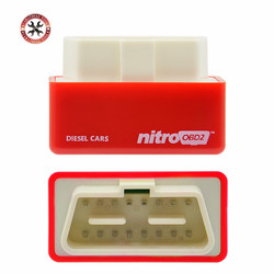 New NitroOBD2 Performance Chip Tuning Diesel Box Nitro OBD2 OBD Interface More Power Torque CNP Free