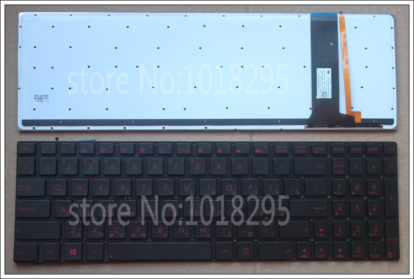 Russian keyboard For Asus GL550 GL550J GL550JK GL550JX  N550JA N550JK N550JV N550L N550LF Backlit laptop RU layout keyboard футболка print bar anthony kiedis