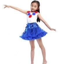 13 colors Fluffy Chiffon Pettiskirts Baby tutu skirts girls Princess Dance Party Tulle Skirt 0-8 Ys