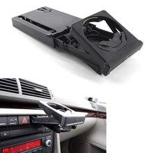 цена на Cup Holder For 2002-2008 Audi A4 B6 B7 4-Door Sedan LHD Black Front Dashboard Cup Holder Plastics With Chrome Trim 8E1862534K