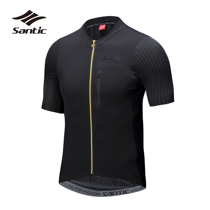 Santic Cycling Jersey 2018 Pro Team Road Mountain Bike Jersey Summer Breathable MTB T-Shirt Quick Dry Ciclismo Bicycle Jersey