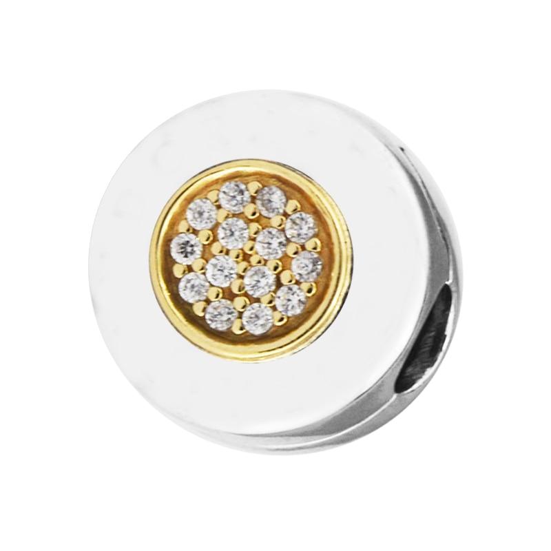 CKK Fit Bracelet Pandora 14 K or Signature Clip Perles pour la fabrication de bijoux charmes en argent sterling 925 Perles originales kralen